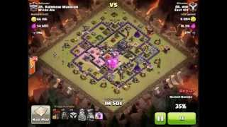 Clash of Clans - Clan Wars - [East 414] ww vs Rainbow Warrior [Wylde Air] by Lavaloon Attack on TH9