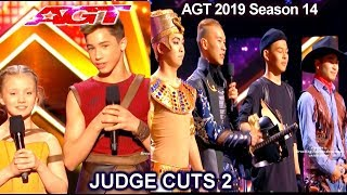 ADEM Dance Crew - Izzy and  Easton | America's Got Talent 2019 Judge Cuts