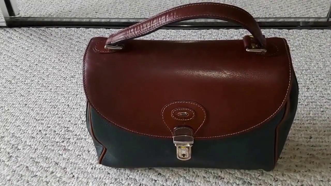 70057ca8b102 Bally Vintage Handbag - YouTube
