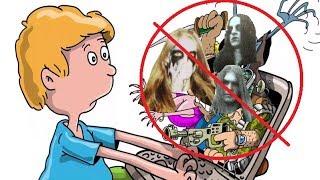 Black Metal опасен для детей.Жуткая правда о Black Metal.