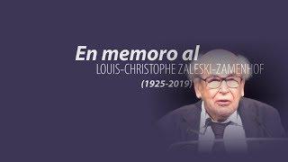 Memoreto pri LOUIS CHRISTOPHE ZALESKI ZAMENHOF