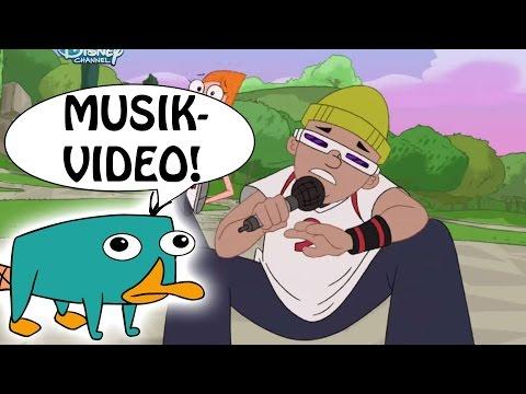 PHINEAS & FERB - Eichhörnchen Rap -  Musikvideo - DISNEY CHANNEL