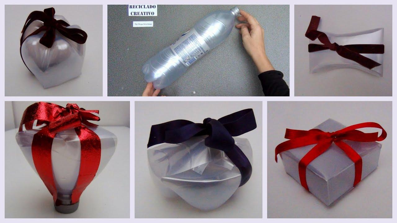 Recopilaci n de cajas de regalo realizadas con botellas de for Como hacer cajas de carton para regalo