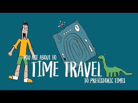 Creative Writing Idea: Time Travel to Prehistoric Ages