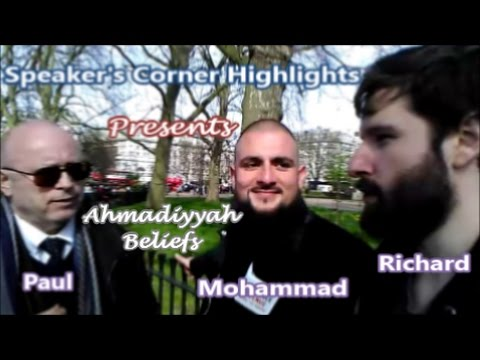Mohammad Discusses Ahmadiyyah with Paul - Features Richard