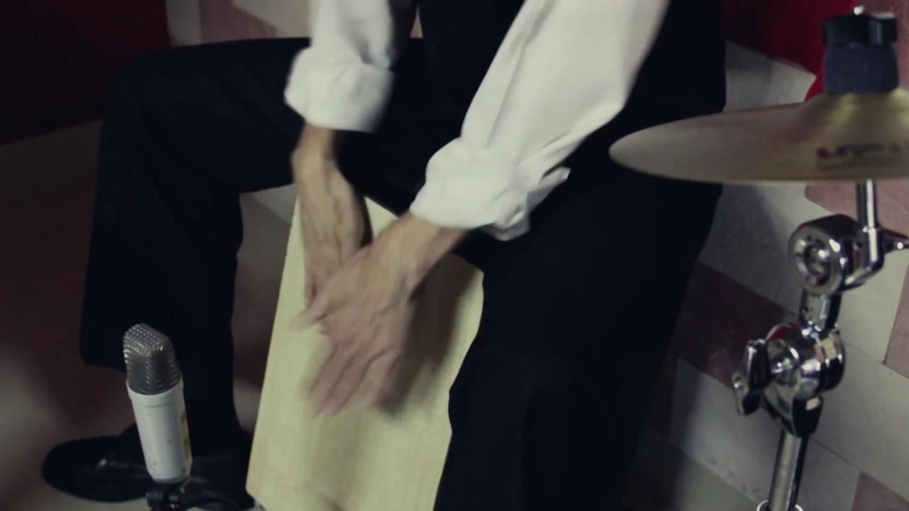 Flamenco cajon solo