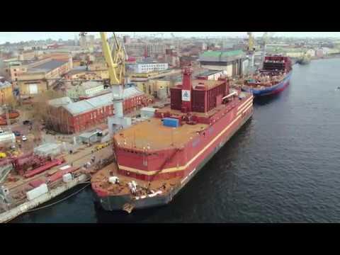 L'Akademik Lomonosov, centrale nucléaire russe, prête à larguer les amarres