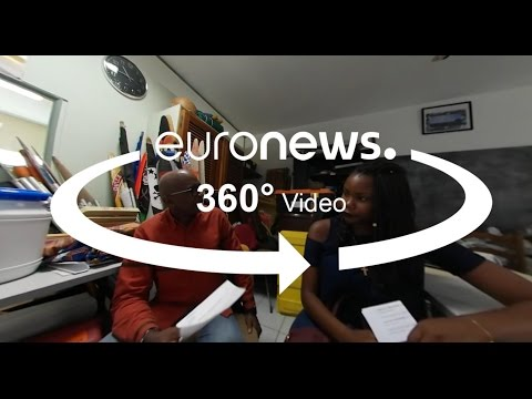 360 Video: French election on the Caribbean island of Martinique.