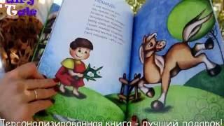 Fairy Tale Обзор персонализированной книги о домашних животных Мальчик Русский язык