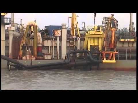 Dredging work on the Calabar port in Nigeria has stalled