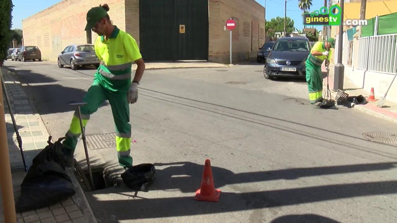 Campaña anual de limpieza de imbornales en todo el municipio