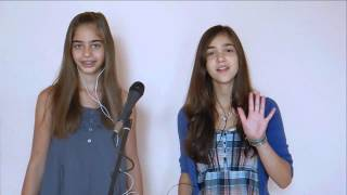 """The Girl Is Mine"" (Michael Jackson and Paul McCartney) - Alisa & Mia Bee"