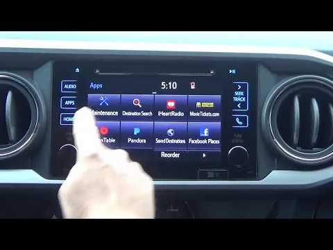 2016-2019 Toyota Tacoma Factory Entune GPS Navigation Radio Upgrade - Easy Plug & Play Install!