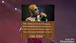 U.S. Governor Declares Every October 6 As Wizkid Day in Minnesota