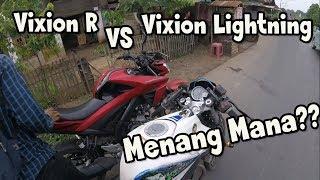 Video Drag Vixion R VS Vixion Lightning Menang Mana??? download MP3, 3GP, MP4, WEBM, AVI, FLV Oktober 2018