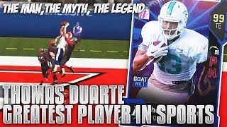 We get the Greatest Player Ever in Sports! THE LEGENDARY THOMAS DUA...