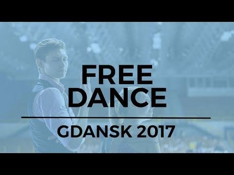 Caroline GREEN / Gordon GREEN USA Ice Dance Free Dance - GDANSK 2017