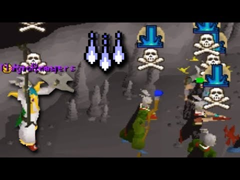 The Village Goes Multi Rev Caves PKing (OSRS)