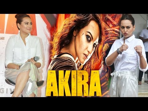 Sonakshi Sinha Reveals Her Excitement For Akira