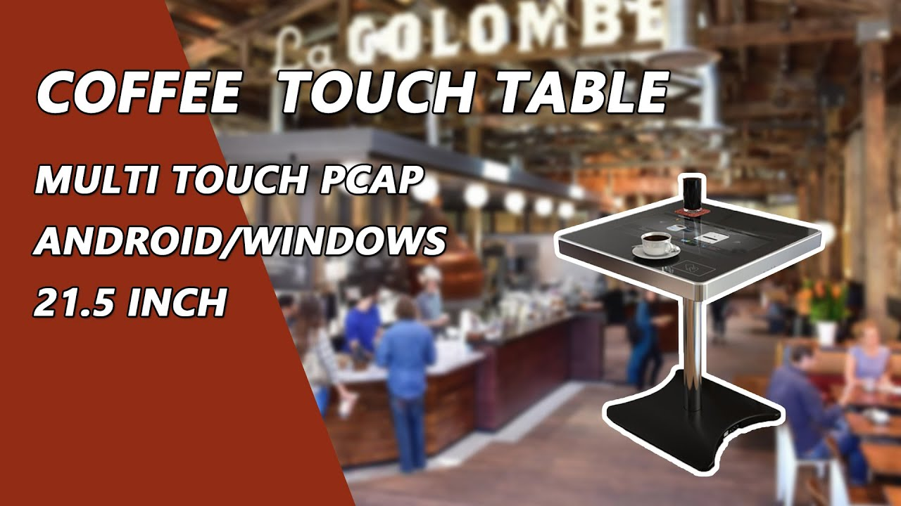 marvel waterproof touch screen coffee table youtube