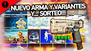 NUEVO ARMA y VARIANTES en BLACK OPS 4 y... SORTEO de PS4 PRO!