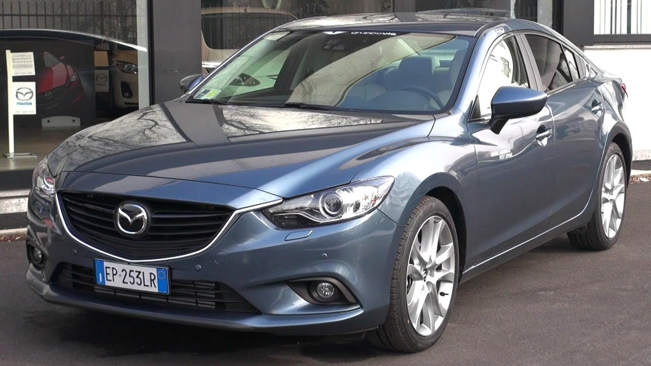 Captivating 2014 Mazda 6 SkyActiv D Start Up And In Depth Look   YouTube