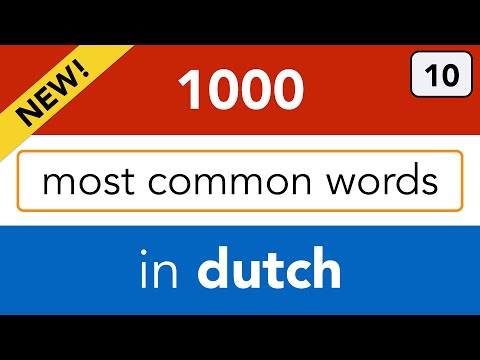 NT2 - Dutch lesson 10 - learn the weekdays and months in Dutch!