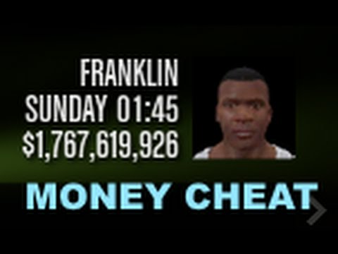 GTA 5 MONEY CHEAT for PC - YouTube
