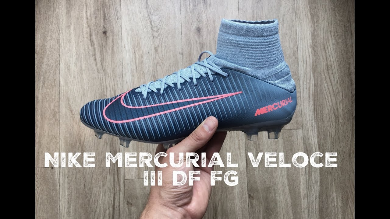Nike Mercurial Veloce III DF FG 'rising fast pack' | UNBOXING | football  boots | 2017 | HD