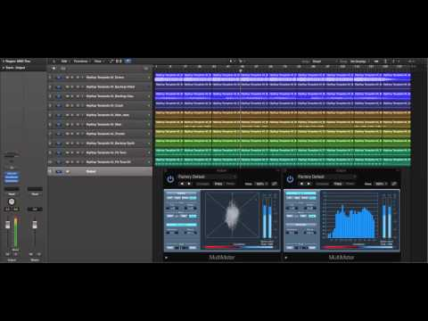 Logic Pro X Hip Hop Template (HipHop Template 04)