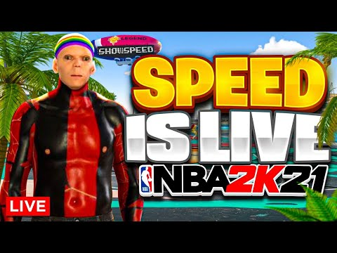 IShowSpeed Vs POWER DF $400 POT WAGER RIGHT NOW $$$! NBA 2K21 LIVE STREAM!