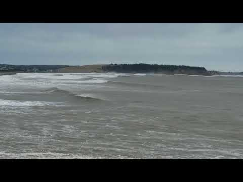 Lawrencetown Beach  NorEaster Storm Surge