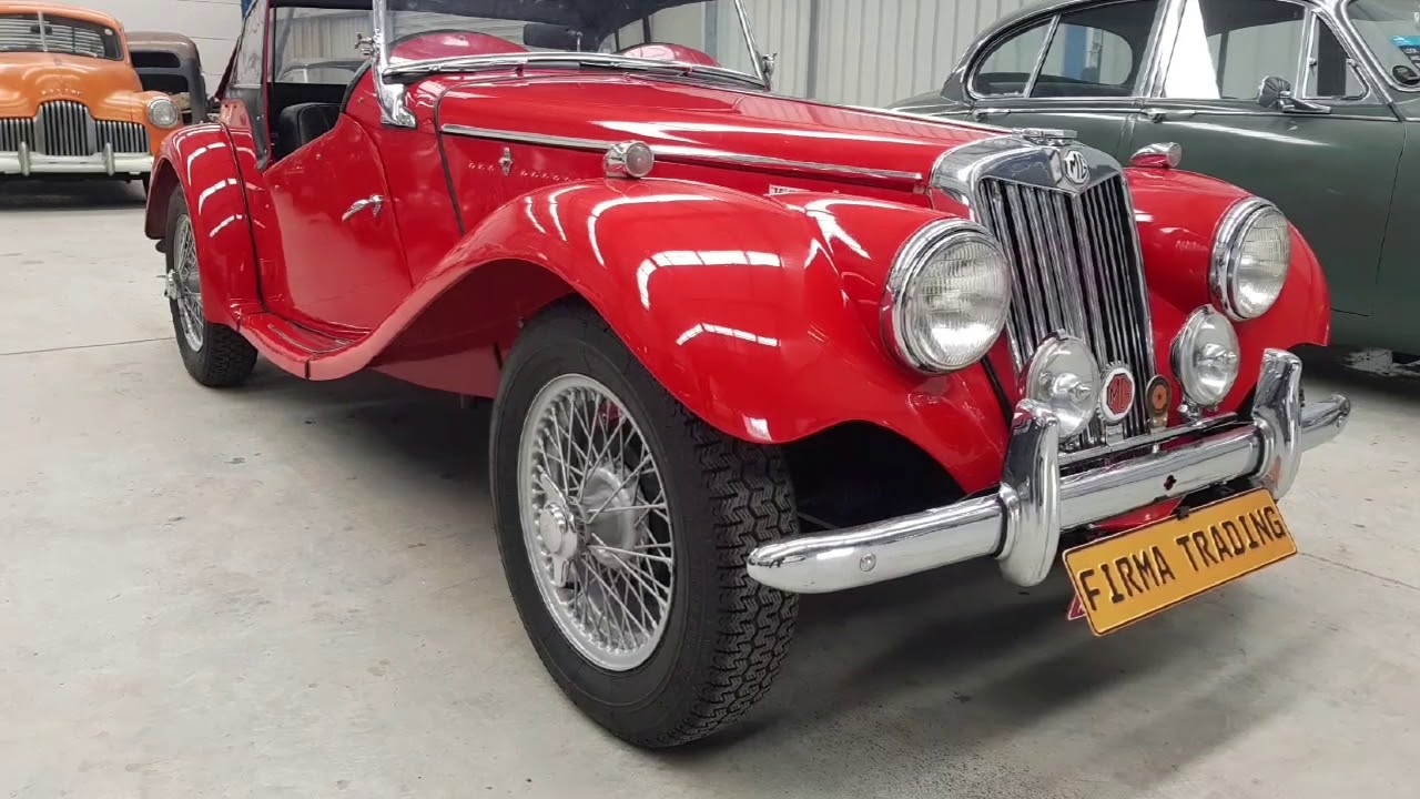 MG TF 1500 by Firma Trading Classic Cars Australia - YouTube