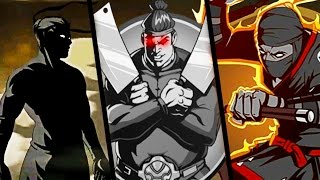 МЯСНИК ПОБЕЖДЕН мультик для детей выбил сет монаха в бой с тенью детское видео игра Shadow Fight 2