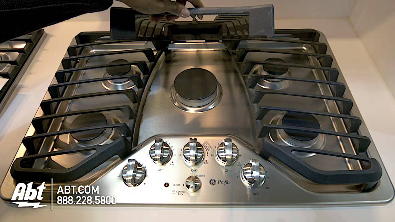 Ge Profile 30 Stainless Steel Gas Cooktop Pgp953setss Features You