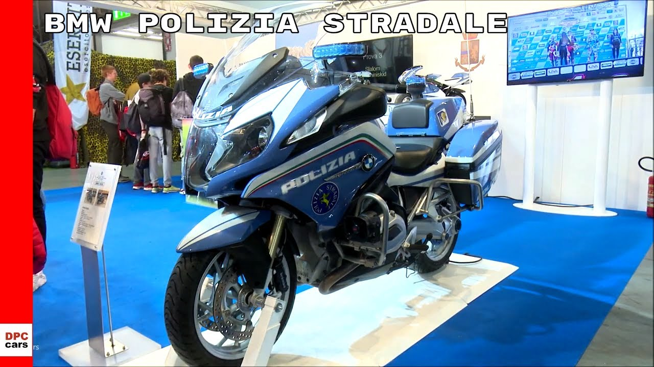 small resolution of 2019 bmw r1200rt polizia stradale police motorcycle at eicma 2018