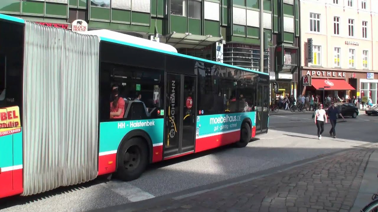 Hochbahn Busse Am Gänsemarkt Hamburg