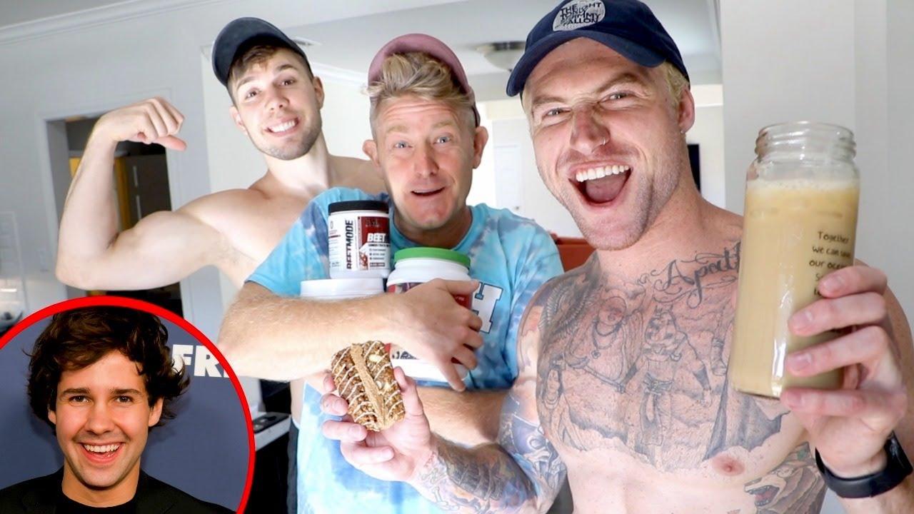 CHAOTIC KITCHEN w/ JASON NASH (david dobrik isn't in the video!)