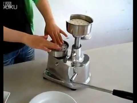 4inch Manual Hamburger Patty Forming Machine Burger Maker