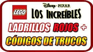 """LEGO Los Increíbles (The Incredibles) ESPECIAL """"Ladrillos Rojos y Códigos de Trucos"""""""