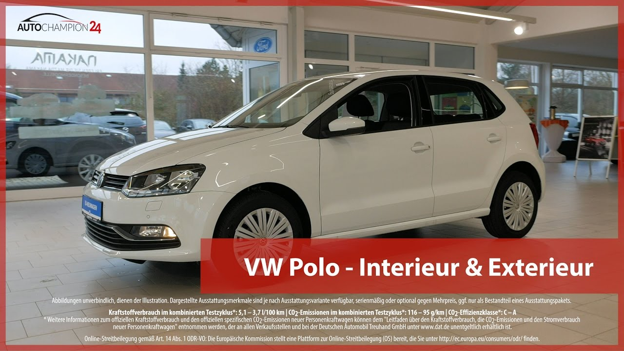vw polo interieur exterieur 4k uhd