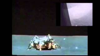 Apollo 15 Lunar Liftoff (inside and outside view)