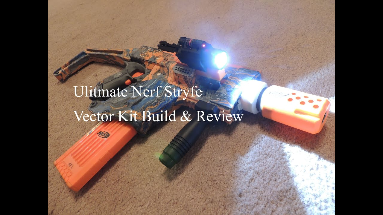 Nerf Stryfe Vector Build and review