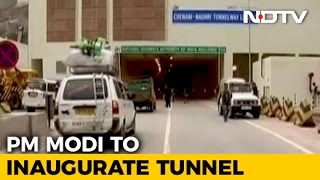 PM Modi In Jammu And Kashmir To Inaugurate India's 'Longest Road Tunnel' Today