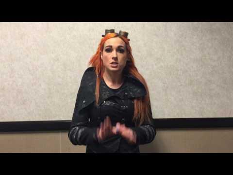 WWE Live Copenhagen @ Royal Arena 14. maj 2017 - Becky Lynch ID