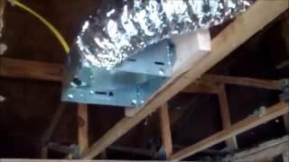 How to Install a bathroom Ventilation Fan