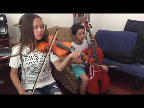 Mozart's Duet No. 1 - Violin & Cello