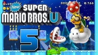 Let's Play New Super Mario Bros U Part 5: Der Kunde ist Dreck?!