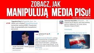 Zobacz, jak manipulują media PiSu! IDŹ POD PRĄD NA ŻYWO 2019.07.10