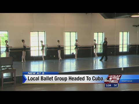 VIDEO: Local students invited to workshop at ballet school Cuba